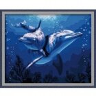 MG056 Два дельфина