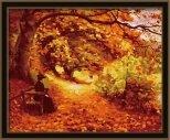 MG036 Танец осенней листвы