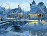 MMC012 Теплая снежная ночь